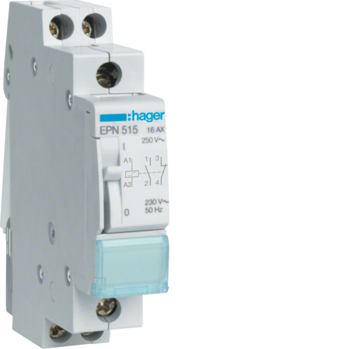 EPN515 Latching relay 1NC+1NO 230V