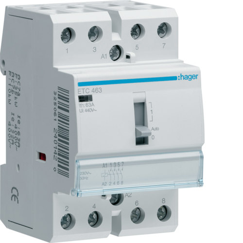 ETC463 Night & Day Contactor 63A,  4NO,  230V