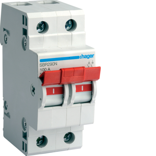 SBR263N 2P 63A Switch High Range