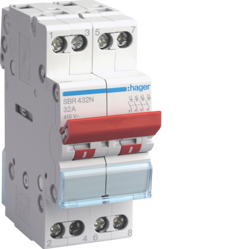 SBR463N 4P 63A Switch High Range